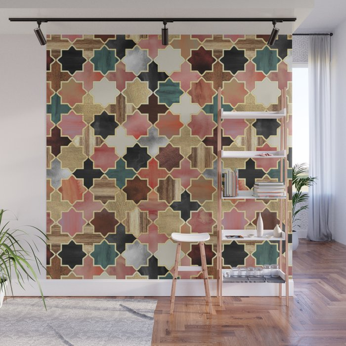 Twilight Moroccan Wall Mural by micklyn Society6