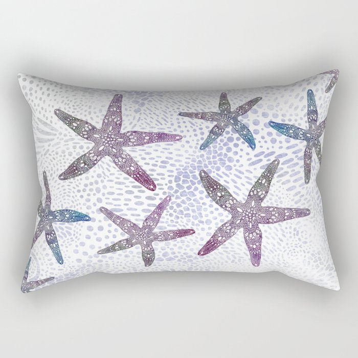 Sea Star Dance Rectangular Pillow