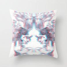 3D Fox Throw Pillow