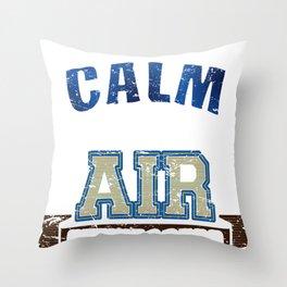 Stewardess Throw Pillow