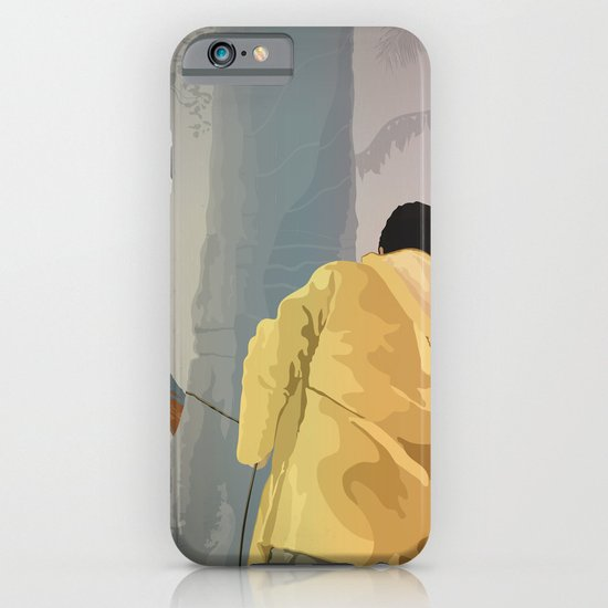 Jurassic Park - Dennis and the Dilophosaurus iPhone & iPod Case