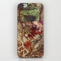 scary iPhone & iPod Skins featuring Scary Monster by Fabi