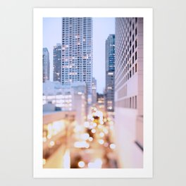 Pastel Nights Art Print