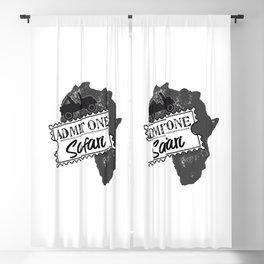 Admit One for Safari Blackout Curtain