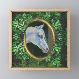 Forest Horse Framed Mini Art Print
