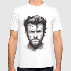 Wolverine Mens Fitted Tee MEDIUM White