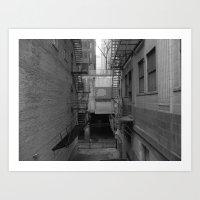 rothko Art Prints featuring Rothko Chicago by Steven Schultz
