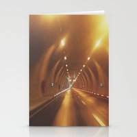 subway Stationery Cards featuring SUBWAY by Yigit C.