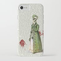 pride and prejudice iPhone & iPod Cases featuring Pride & Prejudice - Zombified by Studio Fibonacci