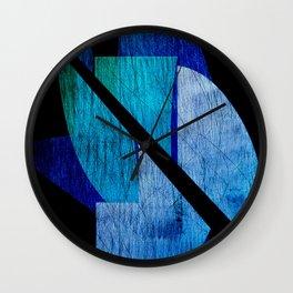 Half Things III Wall Clock