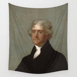 Thomas Jefferson Painting Wall Tapestry