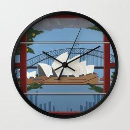 Sydney Harbour Wall Clock