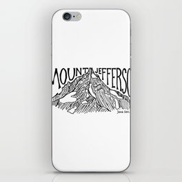 Mount Jefferson iPhone Skin