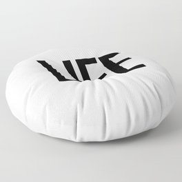 Life Floor Pillow