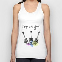 haim Tank Tops featuring Days are gone by Mariam Tronchoni