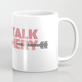 LET'S TALK ARCHERY Coffee Mug