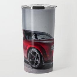 Candy Apple Red Challenger SRT Demon MOPAR Muscle Car Travel Mug