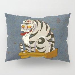 Minhwa: Big Happy Cat D Type (Korean traditional/folk art) Pillow Sham