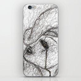 In The Dark Of It iPhone Skin