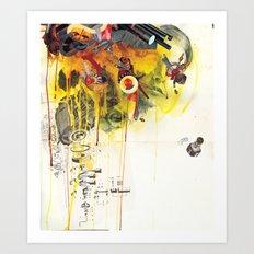 Double Dippers - Minga Art Print