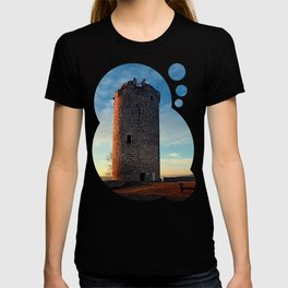 The tower of Waxenberg castle in the sunset | architectural photography T-shirt