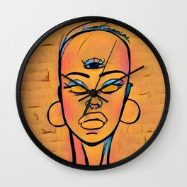 Maferefun Oya Wall Clock