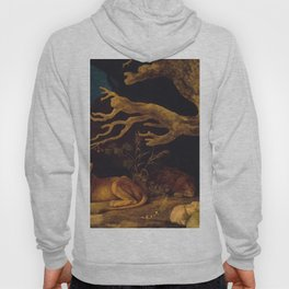 Lion and lioness - George Stubbs - 1771 Hoody