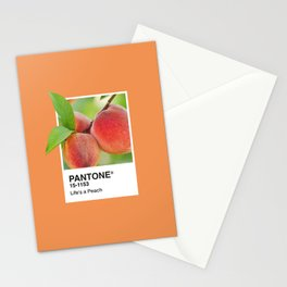 PANTONE SERIES – PEACH Stationery Cards