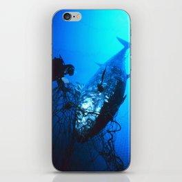 Giant Bluefin Tuna Caught in a Net  iPhone Skin