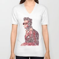 tyler spangler V-neck T-shirts featuring Tyler by Fimbis