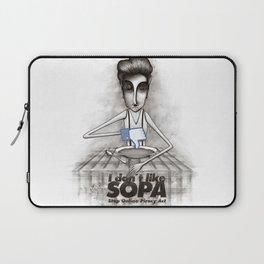 i don't like SOPA Laptop Sleeve