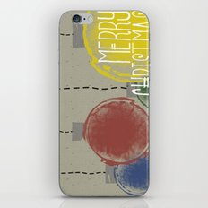 Merry Christmas Ornaments iPhone & iPod Skin