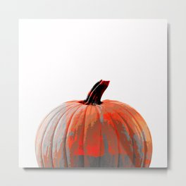 Simple Pumpkin Metal Print
