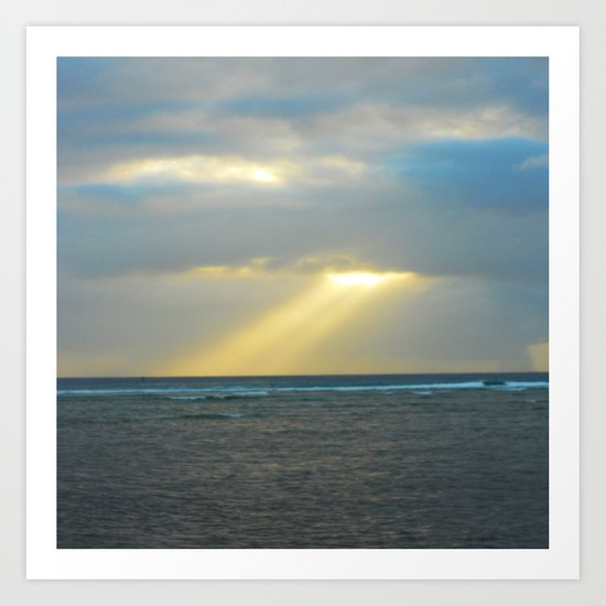 Oahu: Hope Art Print