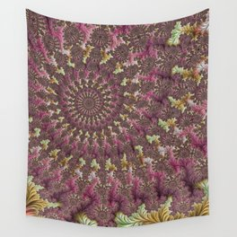 Spiral Fractal Wall Tapestry