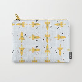 Spaceships pattern Carry-All Pouch