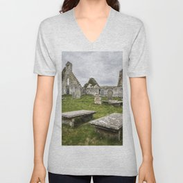 Balnakeil Church Unisex V-Neck