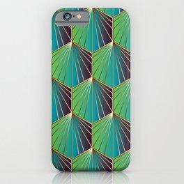 Glam Rock Ocean Blue iPhone Case