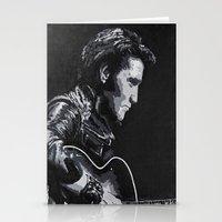 elvis Stationery Cards featuring Elvis by JeleataNicole
