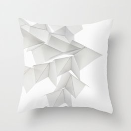 Motion of Patience Throw Pillow