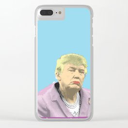 Drumpf Clear iPhone Case