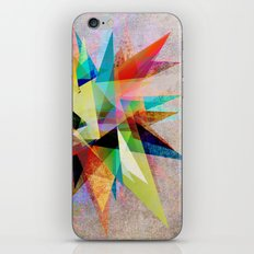 Colorful 2 iPhone & iPod Skin