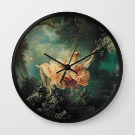 Jean Honore Fragonard The Swing Wall Clock