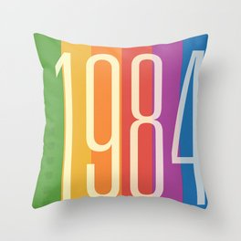 1984 (v) Throw Pillow