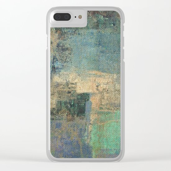 Aral Sea Clear iPhone Case