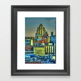 Montreal City II Framed Art Print