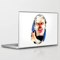 jack nicholson Laptop & iPad Skins featuring Jack Nicholson by drawgood