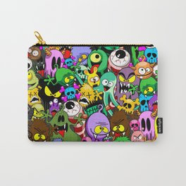 Monsters Doodles Characters Saga Carry-All Pouch