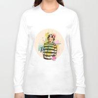 chaplin Long Sleeve T-shirts featuring Chaplin by Dnl Villanueva