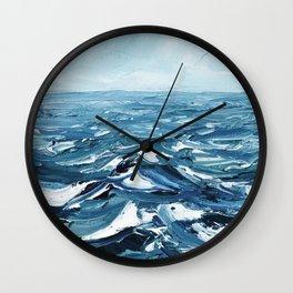 Deep Dark Seas Wall Clock